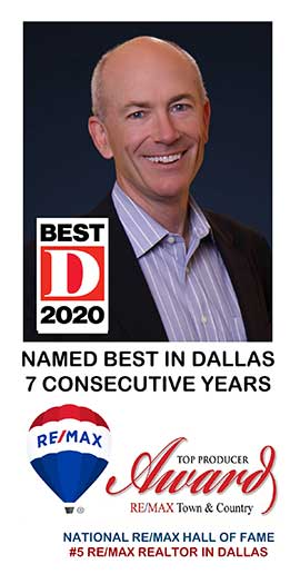 Kevin Kernan - Best in Dallas 5 Consecutive Years